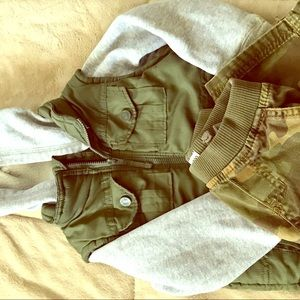 Other - Toddler Boys jacket and army pants